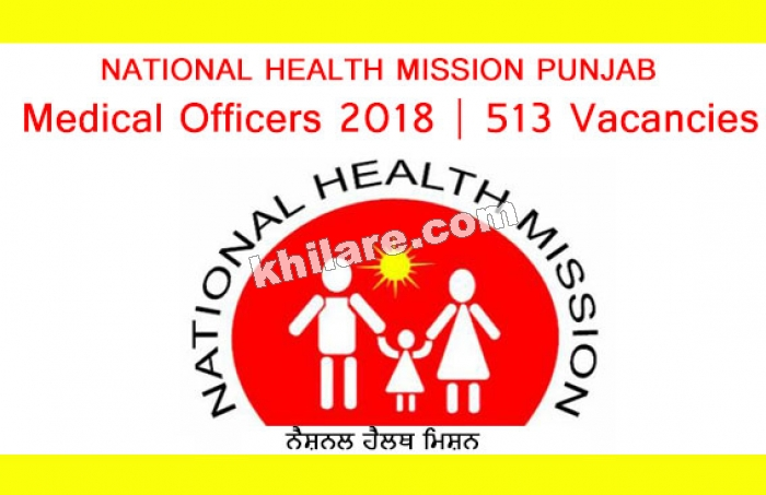 Medical Officers 2018 | 513 Vacancies | Walk in Interview | Directorate of Health & Family Welfare, Punjab