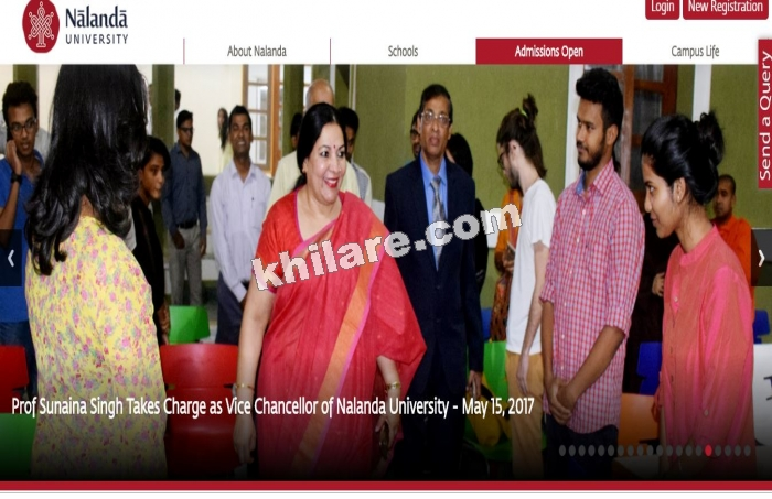 NALANDA UNIVERSITY RECRUITEMNT THROUGH WALK-IN INTERVIEW