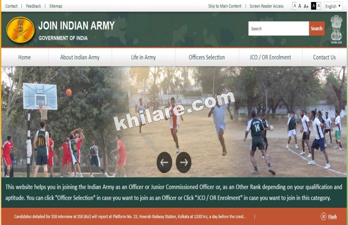 Indian Army Recruitment 2019 – Apply Online for 54th SSC (Men) & 25th SSC (Women)